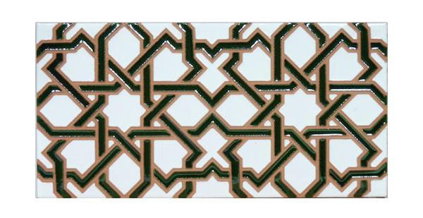 Maioliche tradizionali in rilievo con motivi arabi by Hispalceràmica