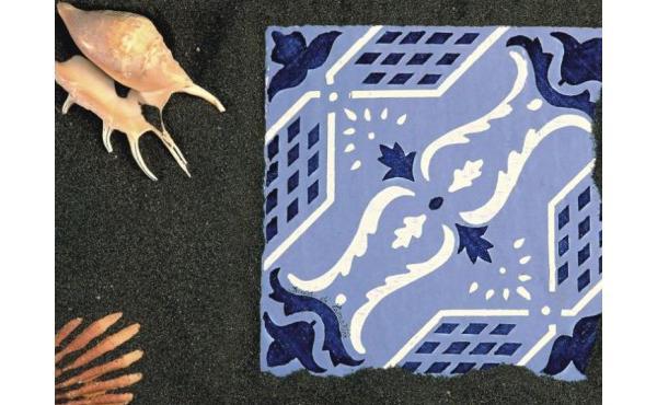 Piastrelle di maiolica della Collezione Eoliana di Desuir