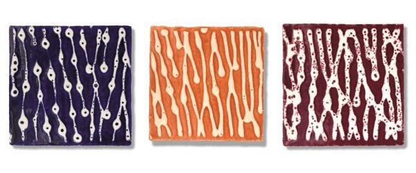 Piastrelle di maiolica moderna della collezione Sailor di Desuir
