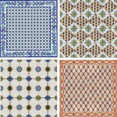 Collezione di piastrelle di maiolica Antica Caltagirone by Desuir