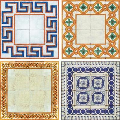 Collezione di piastrelle di maiolica Antica Caltagirone di Desuir
