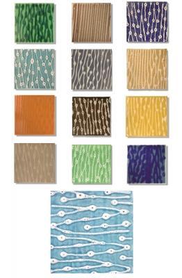 Piastrelle di maiolica moderna della collezione Sailor by Desuir