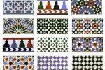 Maioliche tradizionali in rilievo con motivi arabi di Hispalceràmica