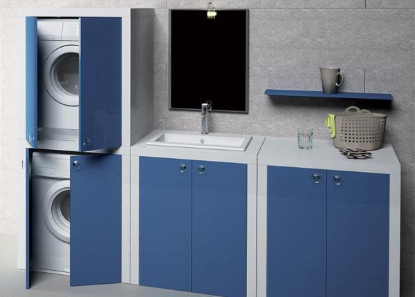Mobile componibile per lavanderia Trend di Ceramiche Civita Castellana