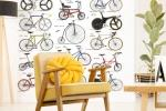 Fotomurale Sparshott - Biciclette, by Wall-Art