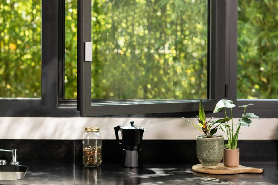 Sensore per finestre a firma Netamo