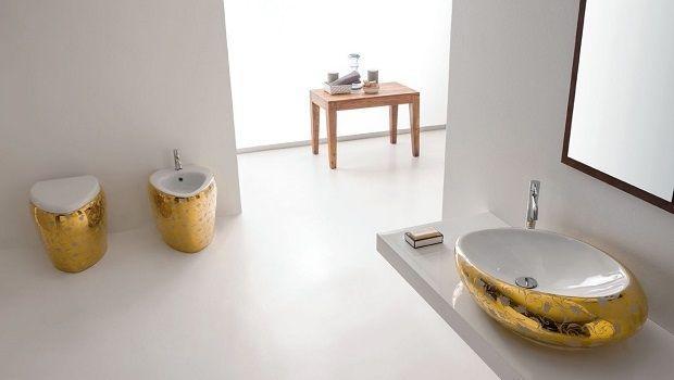Come arredare il bagno con sanitari dal design morbido