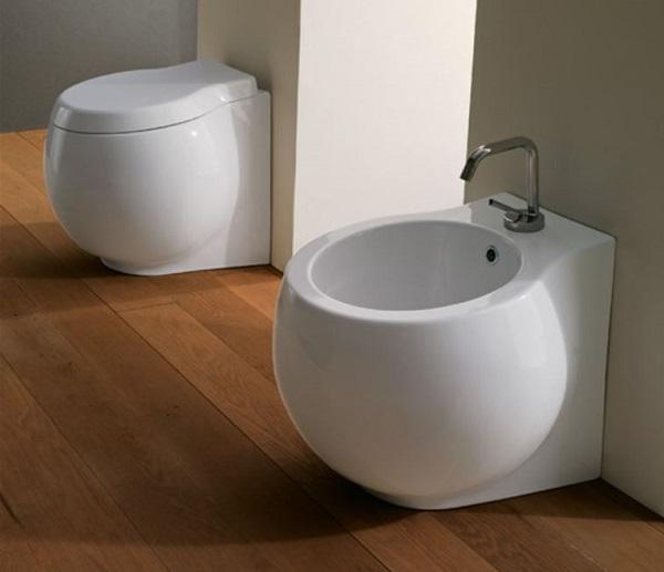 Scarabeo Ceramiche Srl, sanitari bagno filo muro Planet
