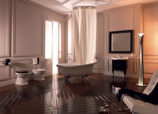 Kerasan arreda il bagno completo con la serie Retrò