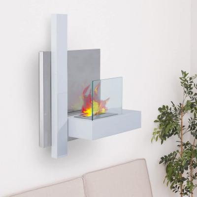 I caminetti al bioetanolo da parete hanno un forte impatto estetico