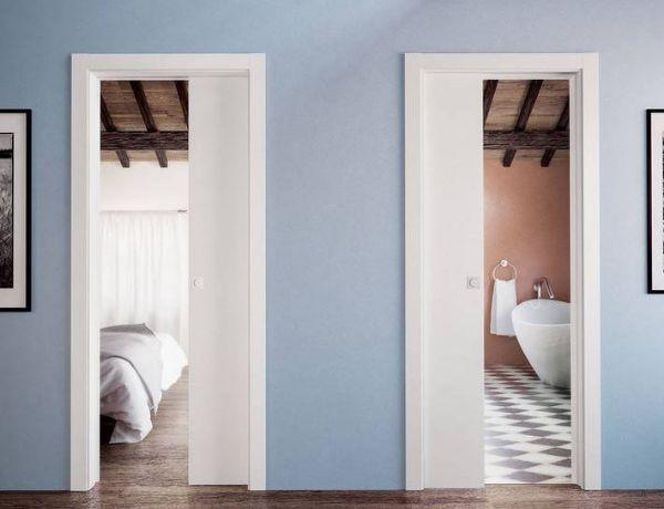 Pratico di Scrigno contiene due porte scorrevoli