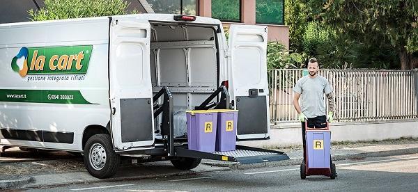 Minimicro è il servizio di raccolta differenziata dei rifiuti speciali di La Cart