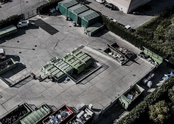 Sito di stoccaggio di rifiuti urbani con Modulo Beton