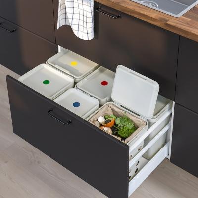 Sistema Hallbar di Ikea per differenziare i rifiuti domestici