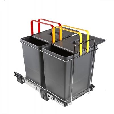 Sistema Ecofil estraibile di Elletipi per rifiuti domestici