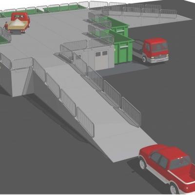 Sistema Modulo Beton per lo stoccaggio dei rifiuti urbani