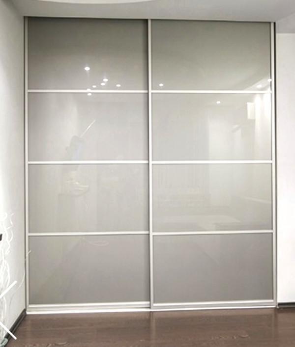 Camera letto cabina armadio con ante scorrevoli