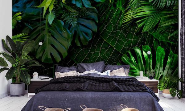 Carta da parati Dark Jungle - Design e foto by Bimago