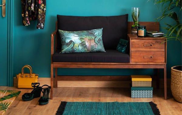 Fodera cuscino Crazy Jungle - Design e foto by Maisons Du Monde
