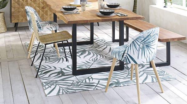 Sedie Mauricette e tappeto Utopia - Design e foto by Maisons du Monde