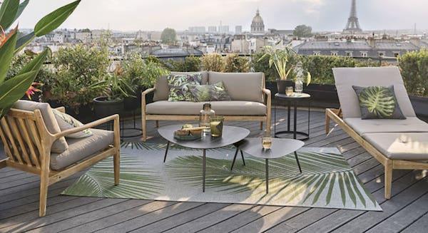 Complementi da esterni in stile Jungle - Design e foto by Maisons du Monde