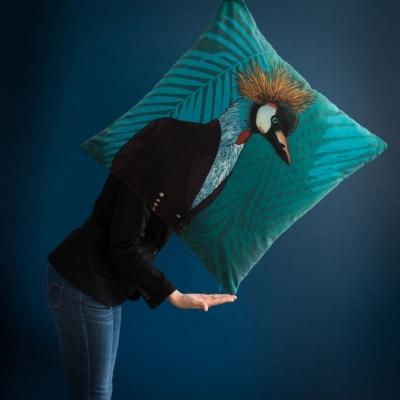 Fodera per cuscino Horus in cotone - Design e foto by Maisons Du Monde