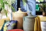 Cuscino fantasia Jungle, Ara - Design e foto by Maisons Du Monde