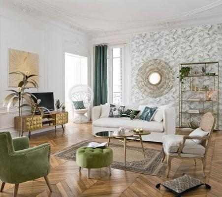 Mix cuscini in stile Jungle - Design e foto by Maisons Du Monde