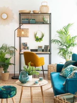 Una zona giorno tropicale! - Design e foto by Maisons Du Monde