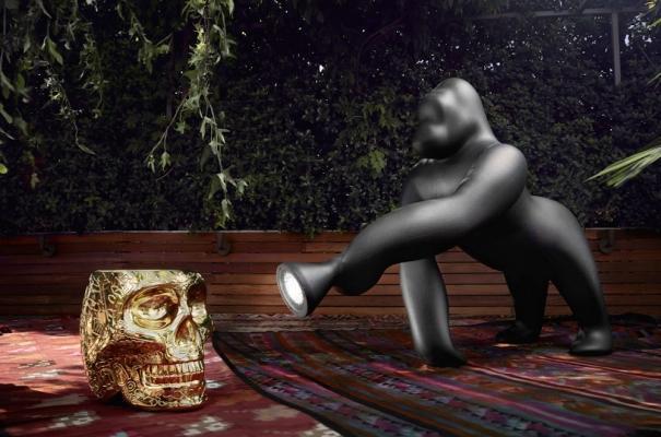 Lampada Kong Black - Design by Stefano Giovannoni