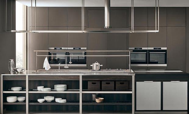 Cucina K-Lab industriale - Foto e design G. Bavuso per Ernestomeda