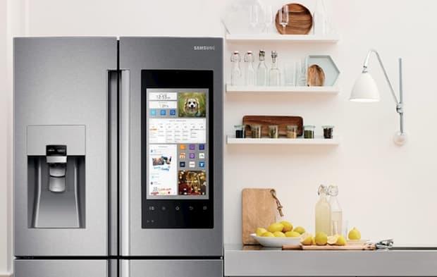 Frigorifero Side by Side Family Hub™ - Foto e design: Samsung