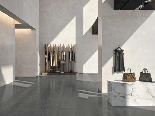 Selezione The Top: lastre Concrete Look - Design e foto by Marazzi