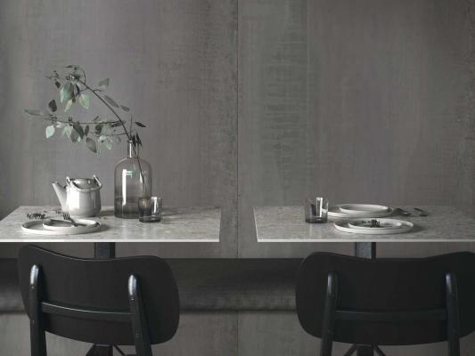 Grande Stone Look e Metal Look - Design e foto by Marazzi