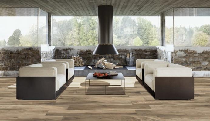 Gres effetto legno Alpen Siusi - Design e foto by Sassuolo Ceramiche