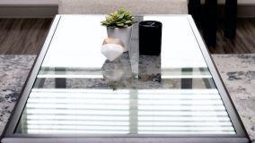 Mobili in cristallo: soluzioni eleganti e originali