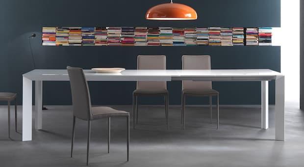 Tavolo in cristallo Manhattan - Design e foto by Riflessi