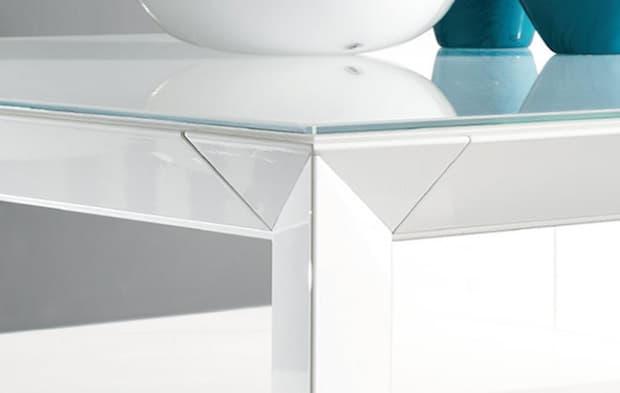 Dettaglio game tavolo Manhattan - Design e foto by Riflessi