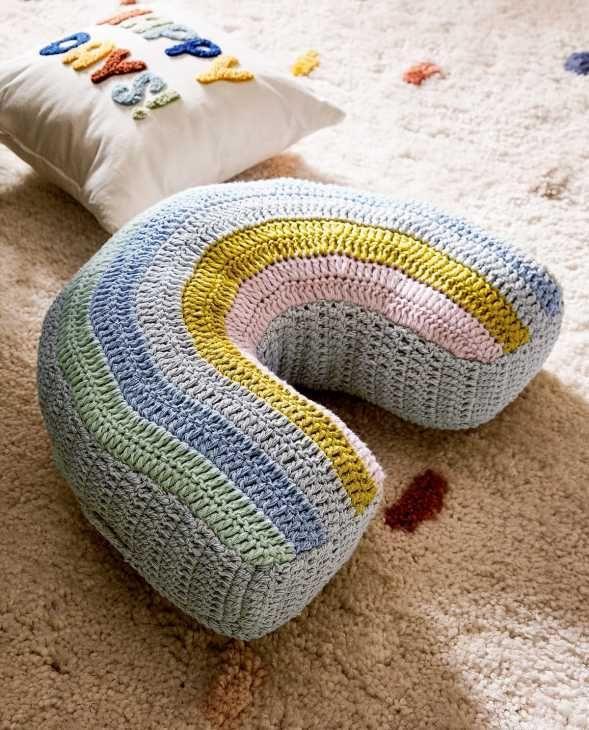 Cuscino arcobaleno Zara Home