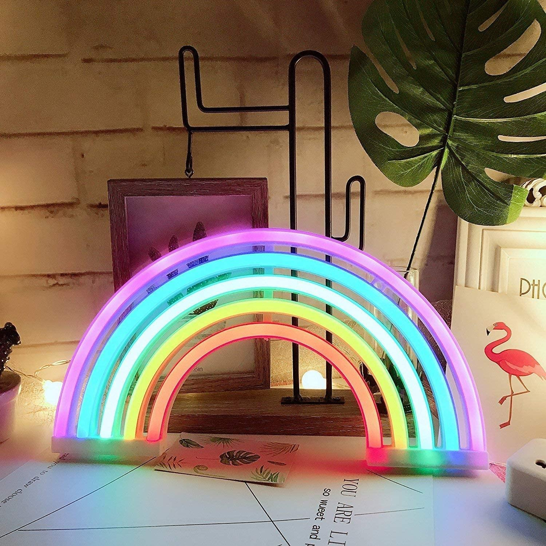 Lampada led arcobaleno