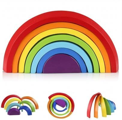 Costruzioni arcobaleno per bambini su Amazon