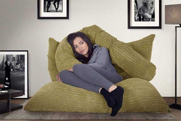 Lounge Pug® Cuscino Pouf su Amazon