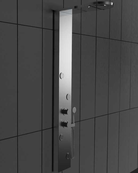 Pannello box doccia idromassaggio Washington di Laneri