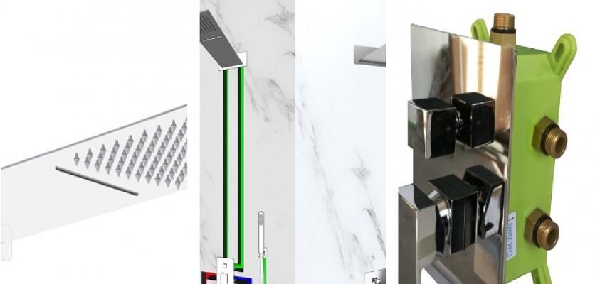 Soluzione per box doccia Minneapolis di Laneri