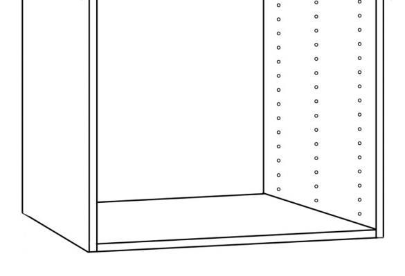 Schema foratura ante Faktum di Ikea