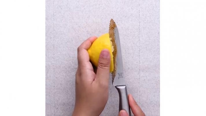 Pulire oggetti coltello Blossom