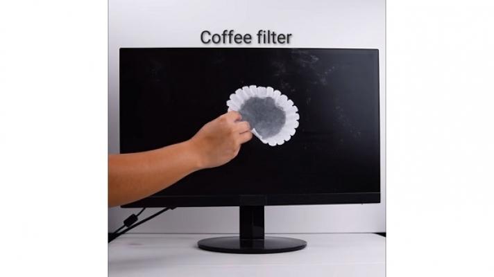 Pulire oggetti filtro caffè Blossom