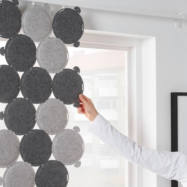 I pannelli fonoassorbenti ODDLAUG di IKEA