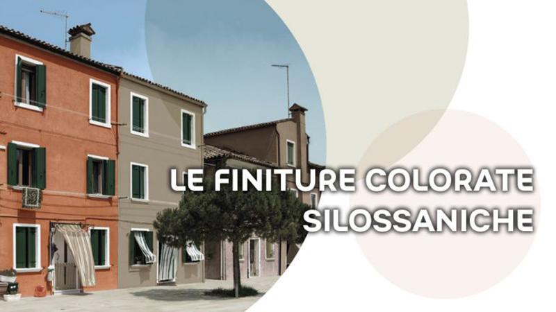 Prodotti silossanici pittura esterna casa