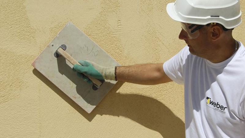 Scegliere colore casa esterno intonaco colorato Weber